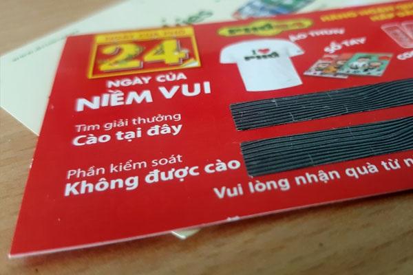 Làm thẻ cào trúng thưởng giá rẻ uy tín chuyên nghiệp| 3TOmega